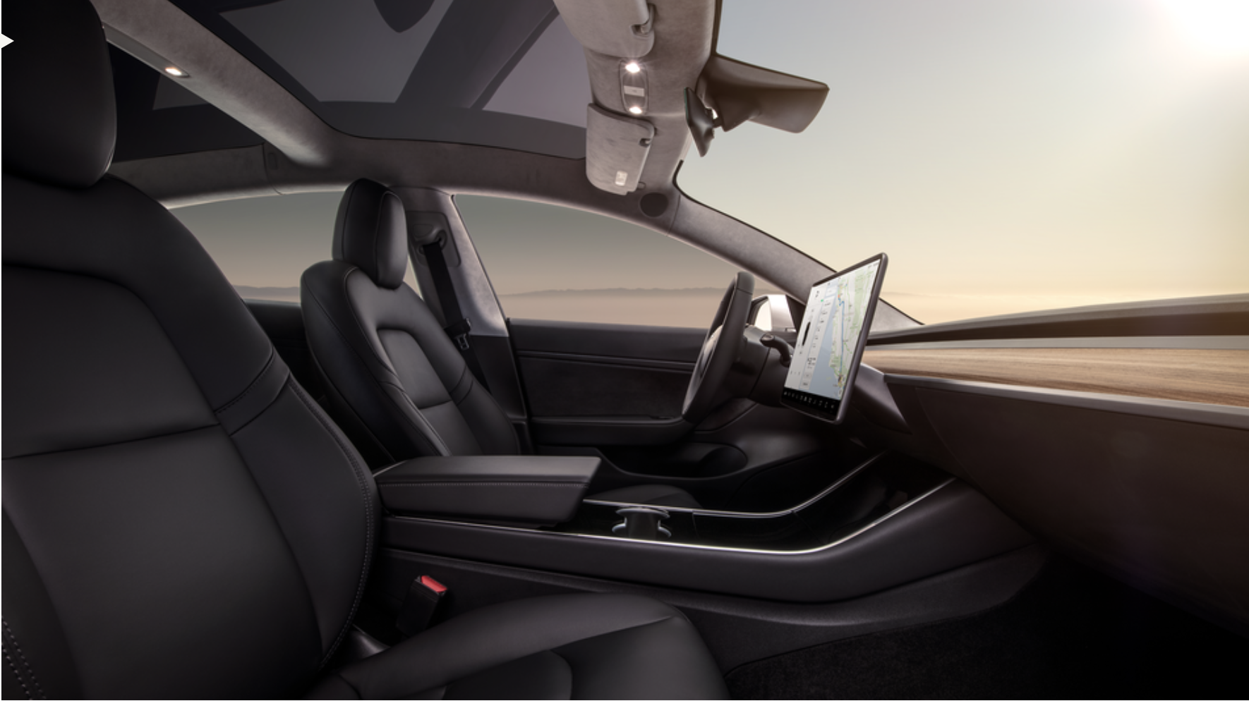 Tesla Model 3 Interior Design