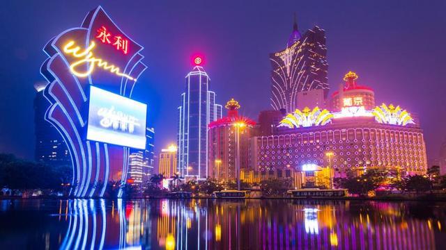 Wynn property in Macau