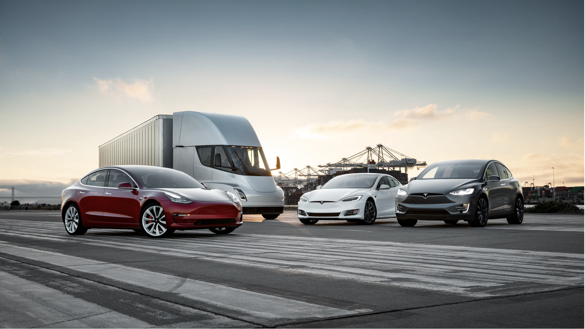 Tesla Family Photo