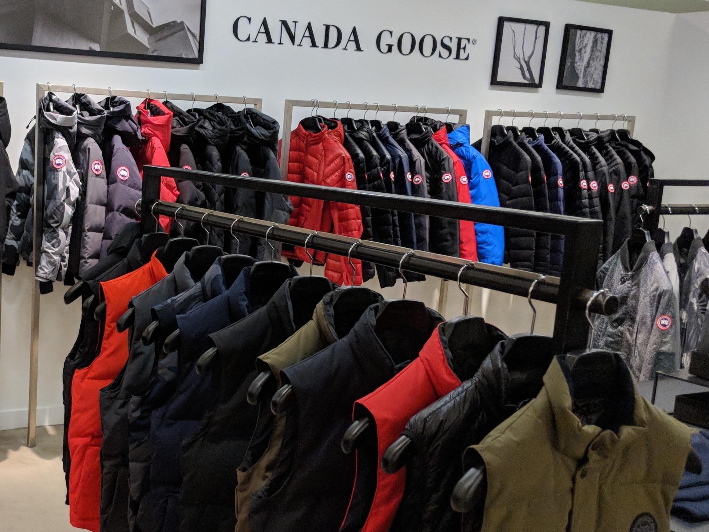 canada goose retailer new york