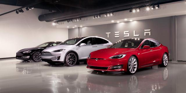 Tesla Vehicle Line-up