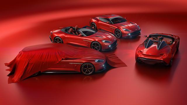 Limited Edition Aston Martin Vanquish Zagato Range
