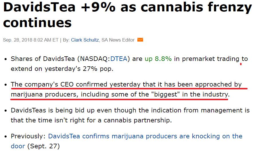 Why Did Davids Tea Say No To Marijuana Producers Davids Tea