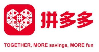 Pinduoduo corporate logo and slogan