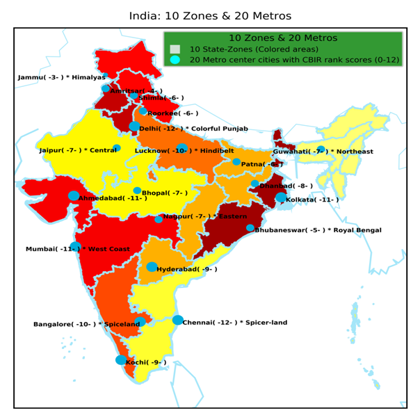 Investment Destinations In India: Globalization Of 20 Major