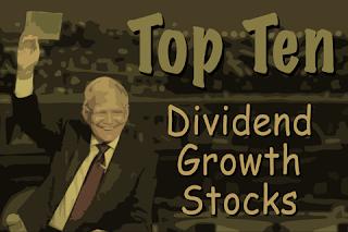 10 Dividend Growth Stocks For November 2018