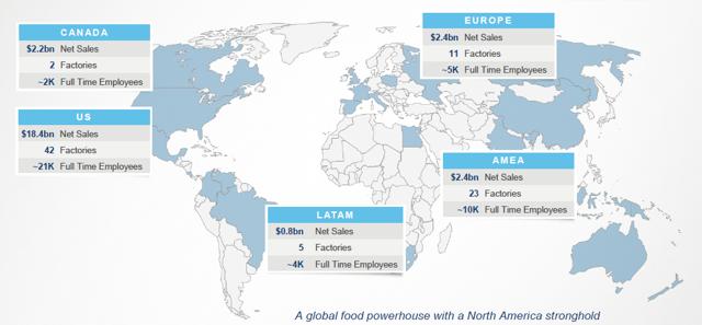 Kraft Heinz Global Sales Footprint