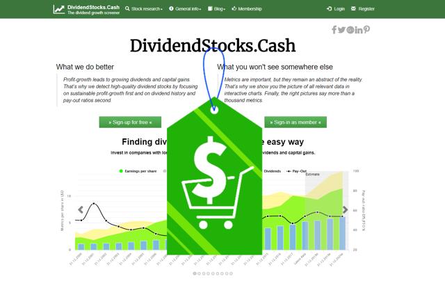 Dividend Growth Stocks Screener