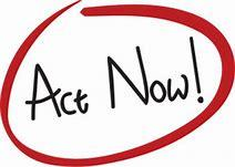 Image result for act now pic