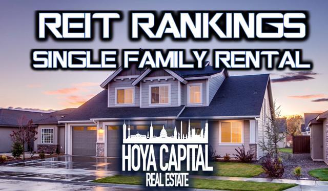 REIT rankings SFR