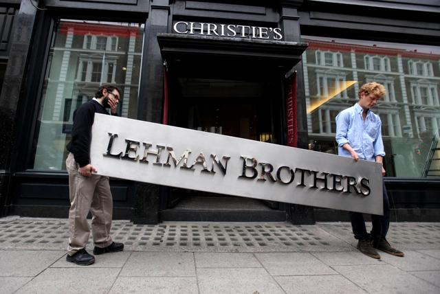 mage result for lehman brothers collapse