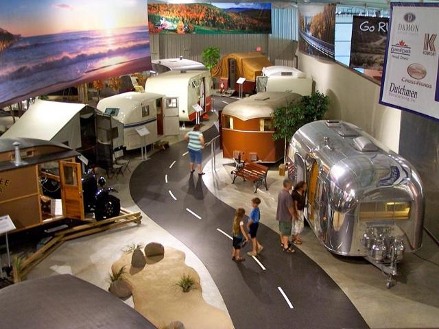 RV MH Hall Of Fame in Elkhart Indiana