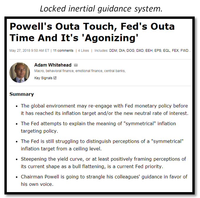 The Fed's Triple-Handed Ambiguity: When A Forecast Is A