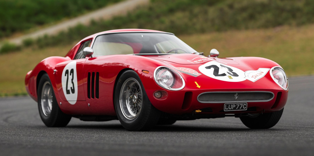 1962 Ferrari 250 GTO (Auctioned for a record of $48.4m)