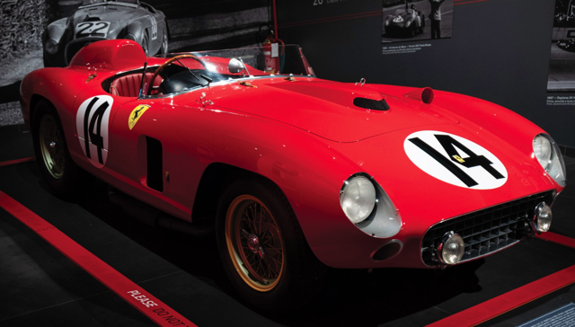 1956 Ferrari 290 MM Auctioned By RM Sotheby