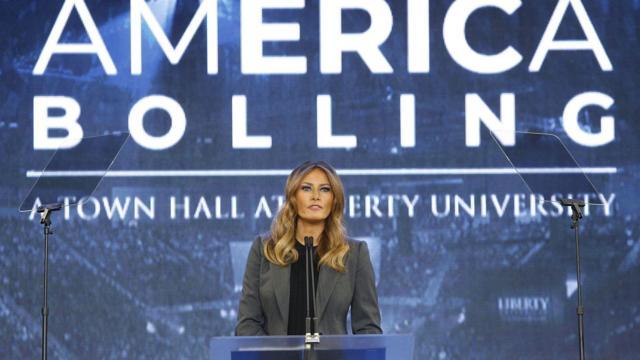 First Lady Melania Trump Speaks on Opioid Crisis