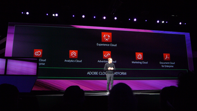 Adobe Experience Cloud applications presentation