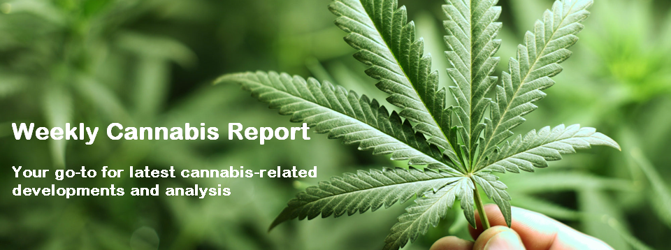 Weekly Cannabis Report U S Federal Legalization And The Green