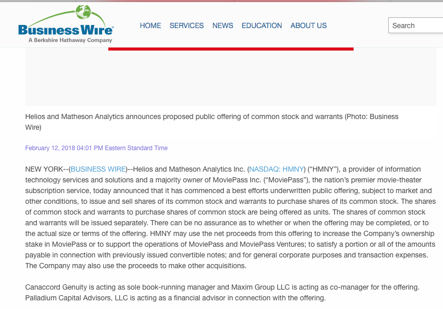 Source Business Wire