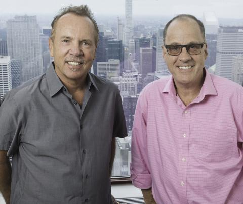 Mitch Lowe and Ted Farnsworth at HMNY Headquarters (Empire State Building, New York, NY)