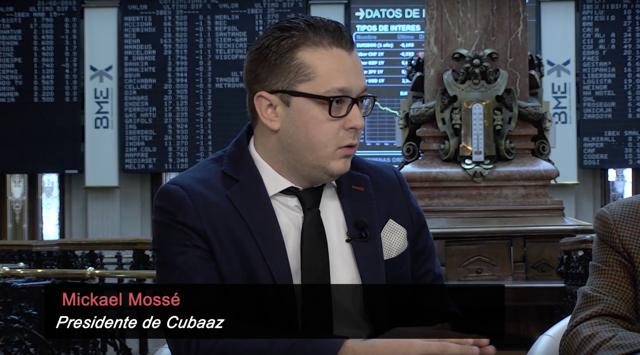 CEO of Cubaaz Mickae Mosse