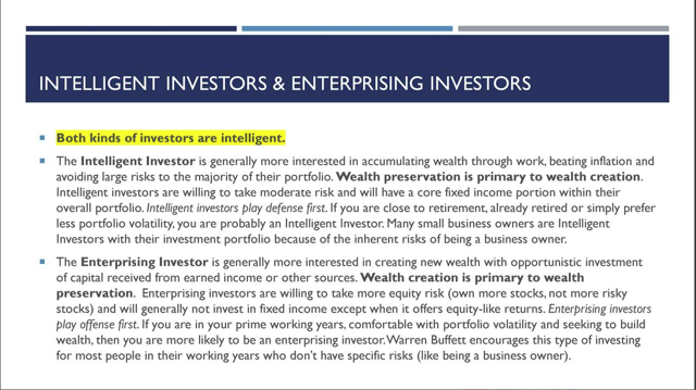 Investor Type