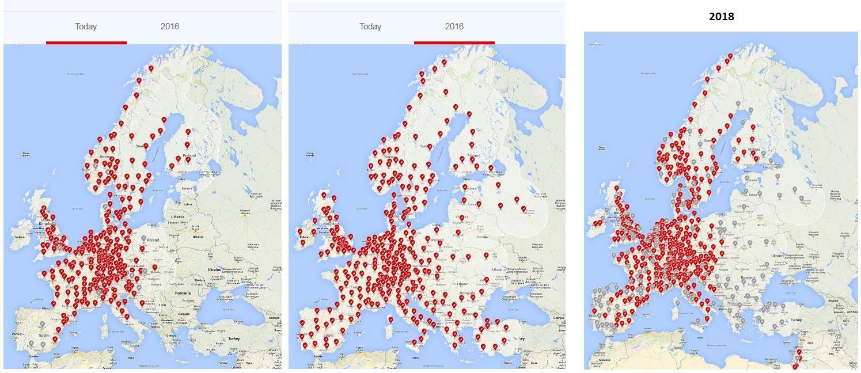 Source Tesla Supercharger Map