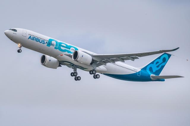 Airbus A380 And A320 Share Order Inflow