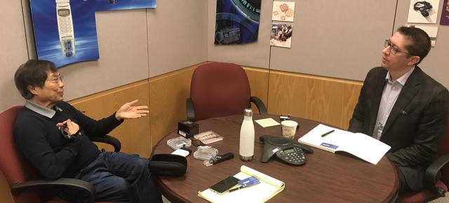 Derrick Interviews John Fan