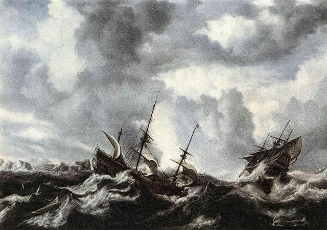 Peeters - Storm on the Sea