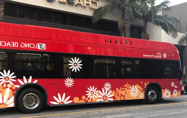 BYD Bus - Long Beach