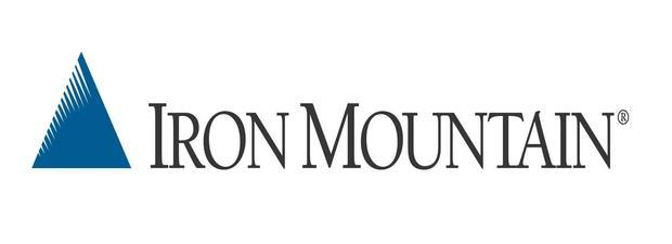 Image result for iron mountain logo