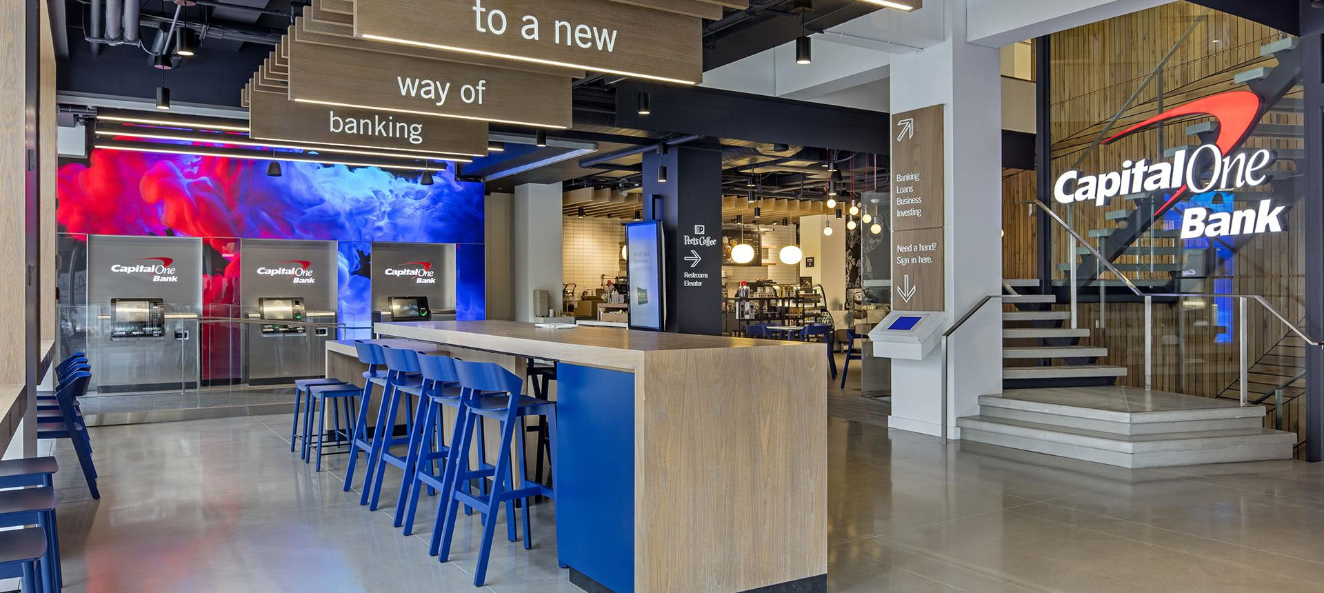 Banks With Coffee Cafes