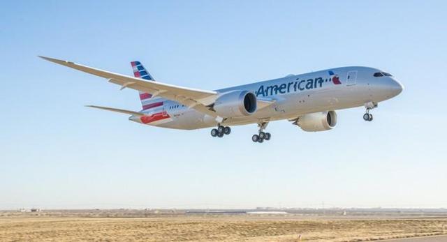 Afbeeldingsresultaat voor american airlines 787