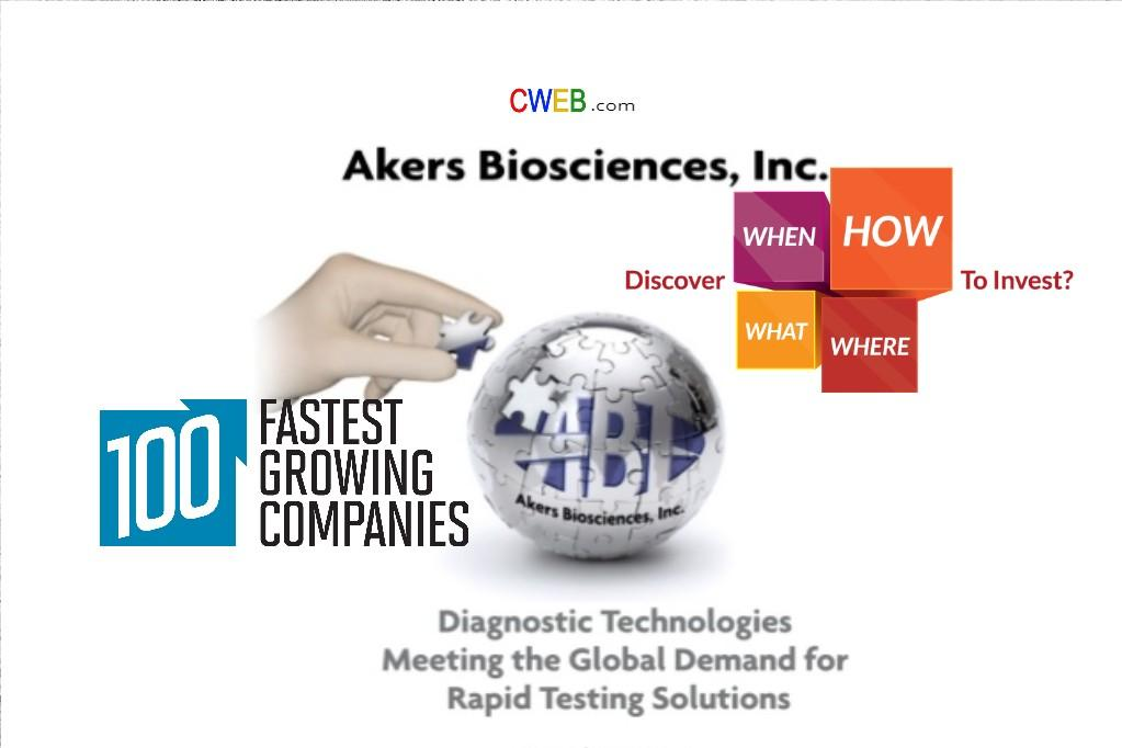 Who Will Buy Akers Biosciences Inc - CWEB.Com - cweb | Seeking Alpha