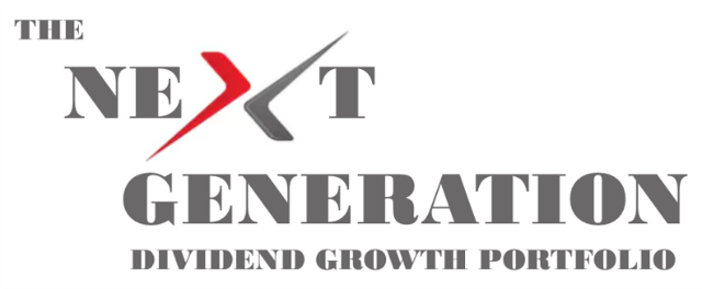The Next Generation, dividend growth portfolio, dividend growth investing, DGI