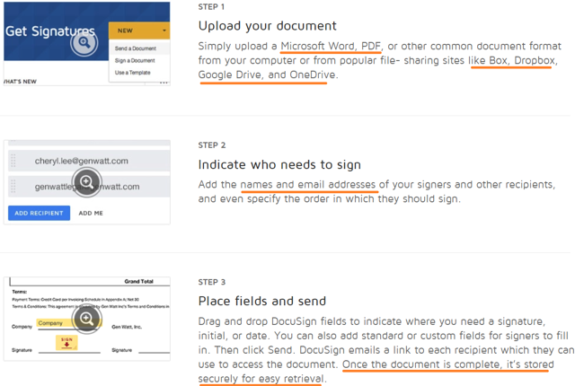 how to use docusign with pdf