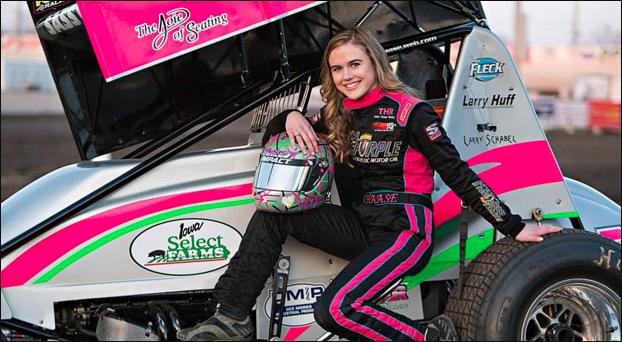 Sprint racer McKenna Haase