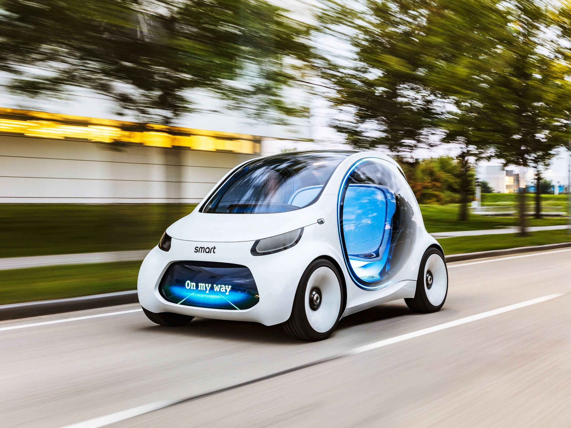 Daimler Mercedes Smart Electric Car