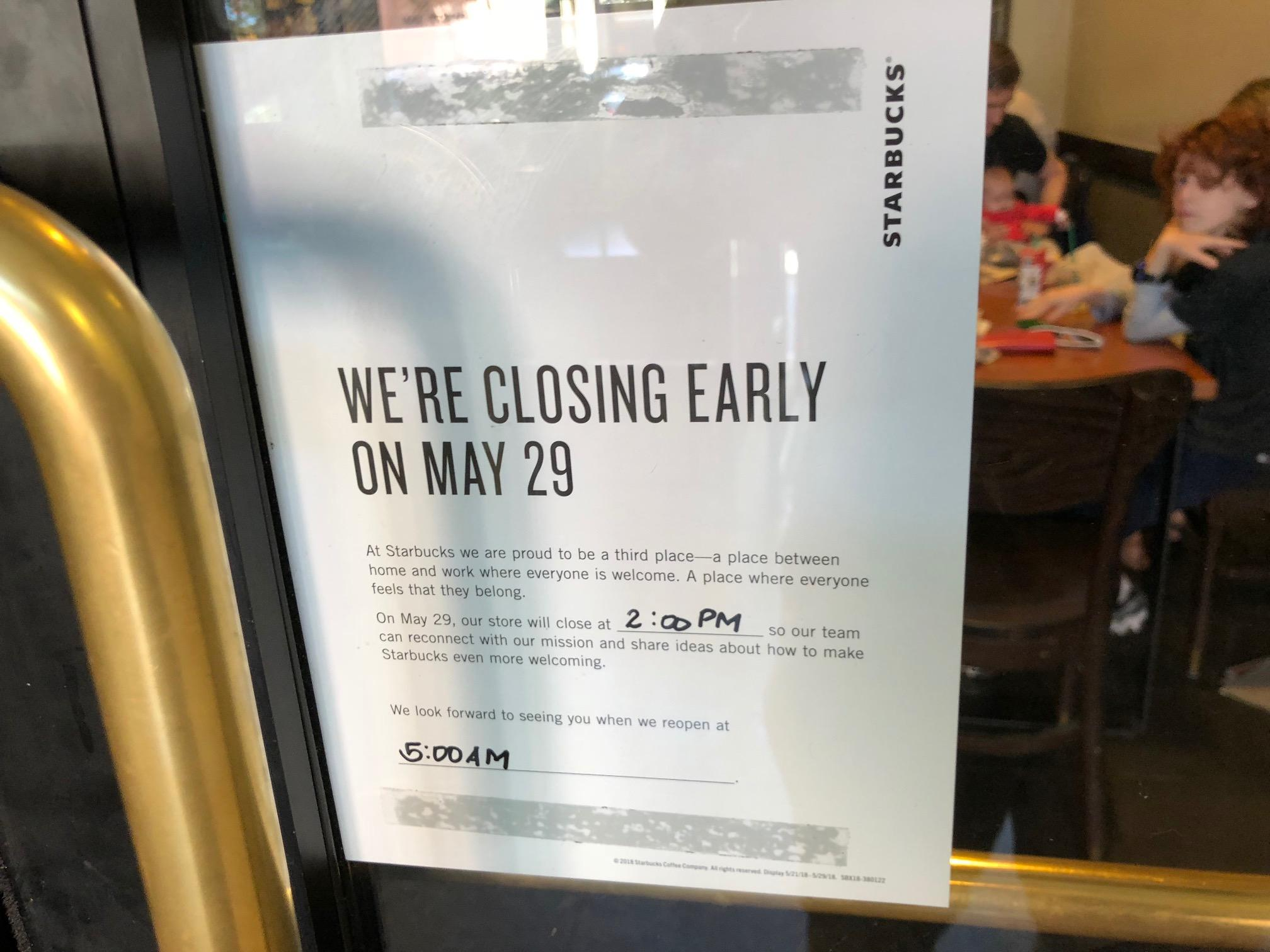 Starbucks Closing Early Tuesday - What It Means - Starbucks ...