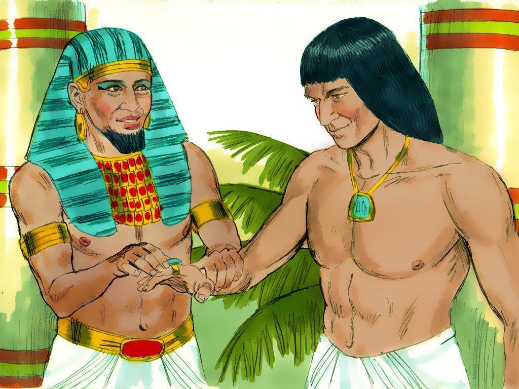 Joseph To Pharaoh: Save Surplus Grain For Inevitable ...