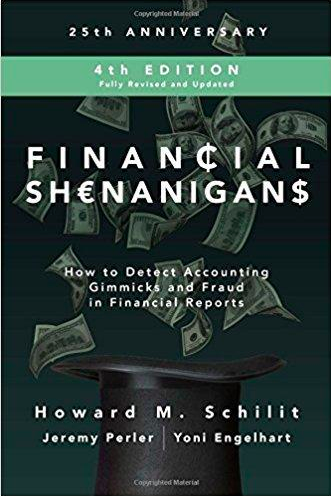 Valuetalks With The Sherlock Holmes Of Accounting Dr Howard Schilit Author Of Financial Shenanigans Seeking Alpha