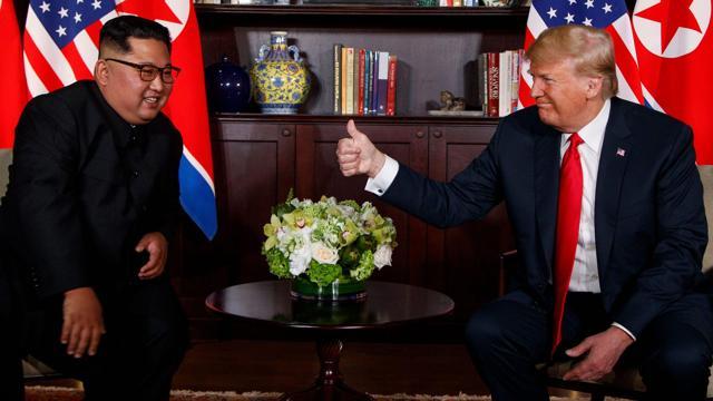 Trump - Kim Meeting