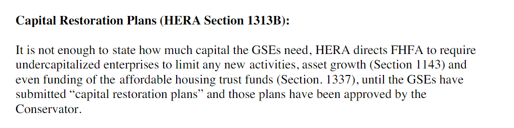 FHFA's GSE 3 24% Capital Proposal - Federal National