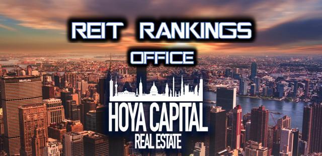 REIT rankings office