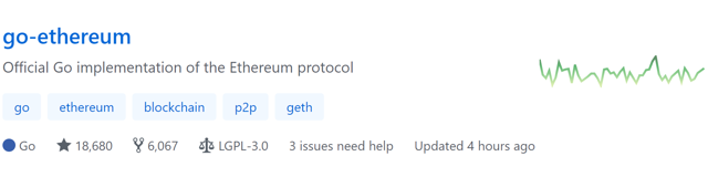 ethereum dev activity
