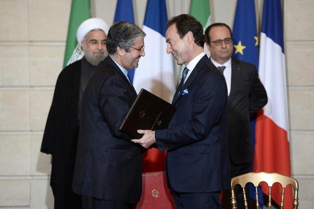 FRANCE-IRAN-DIPLOMACY-ECONOMY
