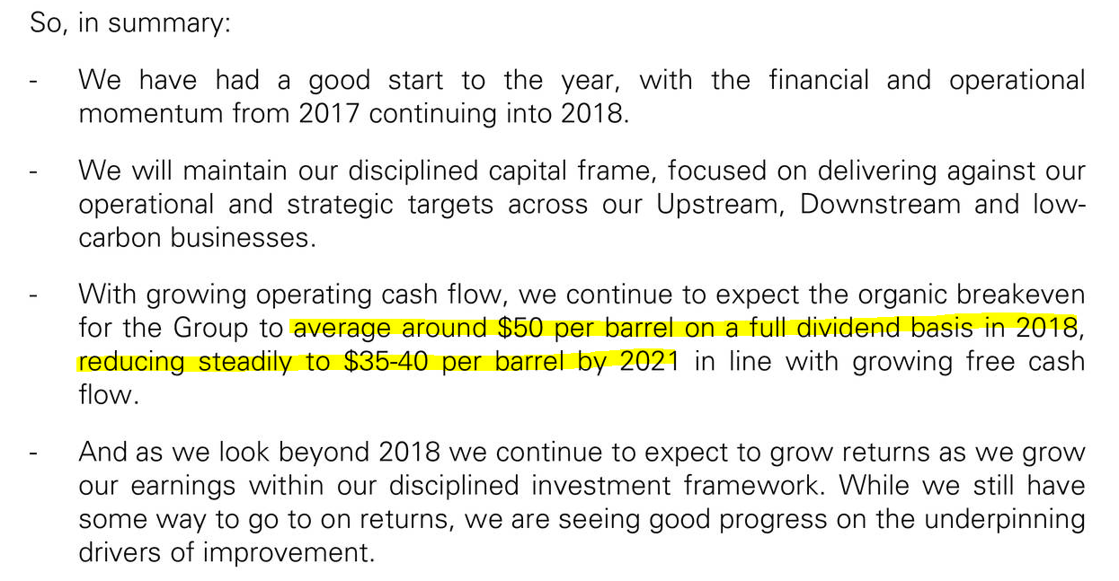 Bp Finally Looks Attractive Offering A High And Safe Dividend Bp
