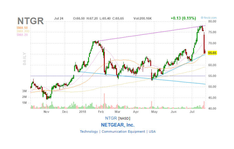A Surprising Market Reaction To Netgears Arlo Spin Off Pricing