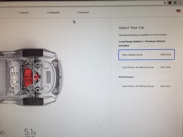 Tesla 35000 Model 3 Branding Is Gone For Now Tesla